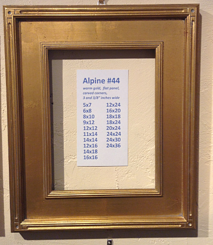 The Frame Below Is Alpine 88 Which Exact Same As 44 And 84 Except That Finish A Warm Black Like All Pictures You Can Select